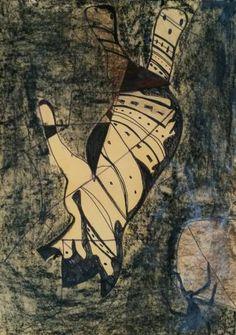 Original Dogs Drawing by Leni Smoragdova London Art, Abstract Expressionism Art, Art Day, Insta Art, Paper Art, Saatchi Art, Ink, Drawings, Artwork