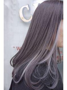 CLAIRE:セピアグレージュ×インナーカラー/CLAIRE by GRAPEVINE 【クレア 横須賀中央】をご紹介。2018年春の最新ヘアスタイルを100万点以上掲載!ミディアム、ショート、ボブなど豊富な条件でヘアスタイル・髪型・アレンジをチェック。