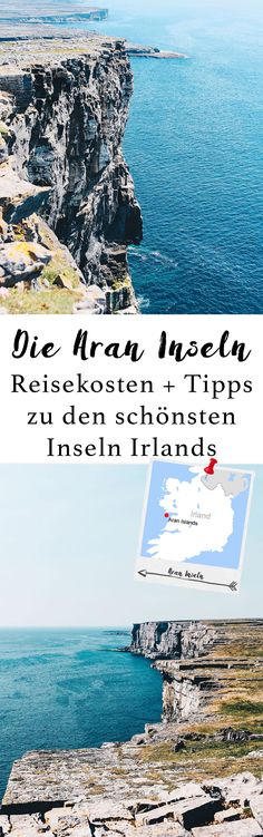 The most beautiful islands of Ireland / The Aran Islands Dublin Travel, Ireland Travel, Galway Ireland, Going Up The Country, Ireland Cliffs Of Moher, Reisen In Europa, Green Landscape, Europe Destinations, Wanderlust Travel