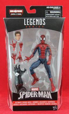 """Peter Parker Amazing Spider-Man Marvel Legends 6"""" Figure Wave 6 BAF Space Venom #Hasbro"""