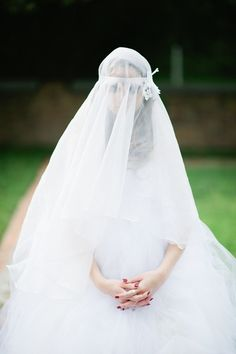 dramatic veil ideas