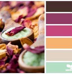 Combinar colores pal
