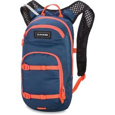 Dakine Womens Session 8L Bike Rucksack inkl. 2L Trinksystem Crown Blue