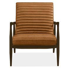 Callan Chair & Ottoman - Modern Accent & Lounge Chairs - Modern Living Room Furniture - Room & Board