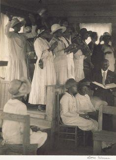 African-American church, rural South, ca. 1930s, photo by Doris Ulmann (adski-Pkafeteri.livejournal.com)
