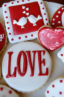 <3 these valentines day cookies