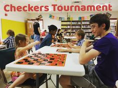 Plan a youth Checkers Tournament at your public library! Sowing Seeds Librarian – Providing Youth Access to Ideas through their Public Library