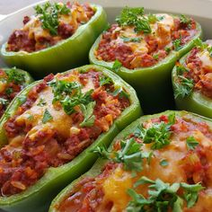 Brown Rice Stuffed Peppers ☺ – Weight Watchers Recipes