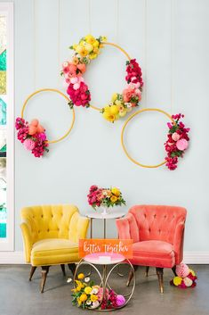 Hot Pink Wedding Inspiration at the Fig House in Los Angeles, CA: Creative Color & Endless Energy - an Aisle Planner Wedding Styled Shoot. Desi Wedding Decor, Home Wedding Decorations, Backdrop Decorations, Diwali Decorations, Wedding Reception, Backdrops, Green Wedding, Wedding Shoes, Diy Home Decor Bedroom