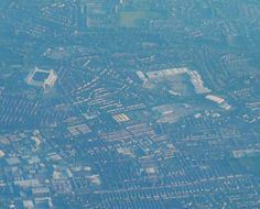 #Aerial view of #Preston #Lancashire with #PrestonNorthEnd #Football Club's #Deepdale #Stadium to the left and Deepdale #Shopping to the right. #Photo taken on a #SonyA6000 from a #Ryanair #flight from Leeds to Dublin. #flying #aerialphotography #travel #tourism #tourist #leisure #life #IgersEngland #SonyAlpha #SonyAlphaClub #landscape #VisitPreston #IgersLancashire #IgersPreston