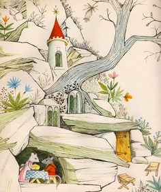The White Rat's Tale written by Barbara Schiller, illustrated by Adrienne Adams (1967).