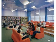 book lights and sky ceiling