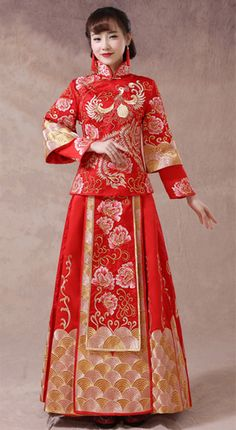 Robe de mariee rouge tradition