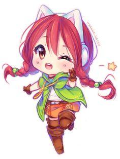 Commission - Sweet Linkle Dovah by Hyanna-Natsu.deviantart.com on @DeviantArt