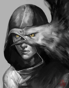 art, assassin, and black and white image Arte Assassins Creed, Assassins Creed Odyssey, Assassins Creed Tattoo, Dark Souls, Assasins Cred, Skyrim, Dragon Age, Fantasy Characters, Character Art