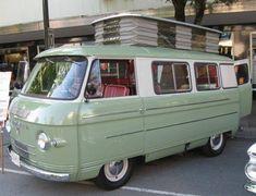 Hemmings Find of the Day – 1965 Commer caravan Vintage Trailers, Vintage Trucks, Old Trucks, Vintage Auto, Vintage Travel, Classic Campers, Classic Trucks, Camper Caravan, Camper Van