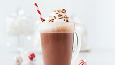 Les maîtres chocolatiers Lindt vous offrent la recette d'un chocolat chaud moka qui est la boisson préférée d'une vedette de la LNH
