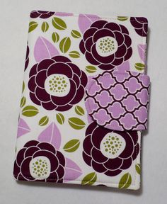 Kindle cover, Nook Cover, Kindle Touch, Kindle Fire, eReader Cover Book Style, Aviary 2 Bloom Lilac