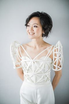 This Bride Wore an Amazing Pantsuit in Her Modern Minimalist Wedding! Modern Filipiniana Gown, Filipiniana Wedding, Unique Wedding Gowns, Wedding Attire, Wedding Dresses, Wedding Ideas, Wedding Blog, Wedding Pantsuit, Wedding Outfits