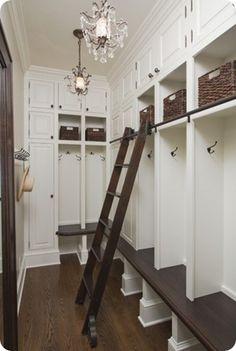 Kast met trappetje :-)
