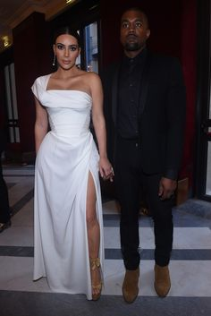 Night at the Opera with Kim and Kanye - -Wmag