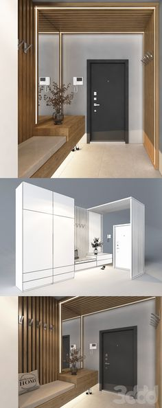 Condo Interior, Master Bedroom Interior, Bedroom Bed Design, Shoe Cabinet Design, Cupboard Design, House Extension Design, House Design, Entrance Hall Decor, Study Table Designs