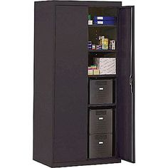 Sandusky Cabinets Modular 2 Door Storage Cabinet | Barry's ...