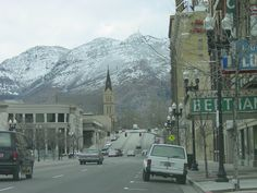 Ogden Utah has a lot of great sights to see and skiing is great too.