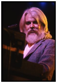 Steve Gladstone Photography: The End of Pictures - Leon Russell Beautiful One, Beautiful People, Leon Russell, Joe Cocker, Gladstone, Rock Stars, Rockers, Music Artists, Flower Power
