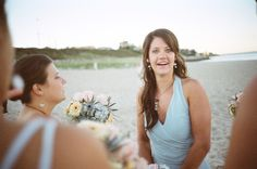#Bridesmaid #beach #wedding #photography