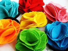#broszka #kwiat #filc 3,99 PLN