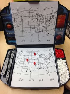 Map Skills Battleship Game is part of Science Facts Social Studies - Classroom Freebies Too is more freebies for more teachers! 3rd Grade Social Studies, Social Studies Classroom, Social Studies Activities, Teaching Social Studies, Classroom Freebies, Social Studies Notebook, Teaching Geography, Teaching History, Teaching Resources