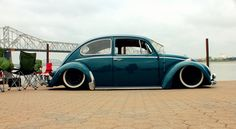 VW Beetle  Hanging out down by the river, Photo courtesy of Elizabeth Wintercorn.