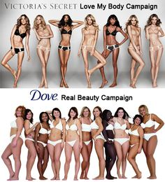 I love the Dove Real Beauty campaign... look how beautiful (and happy) they are!