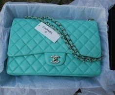 Chanel in turquoise!
