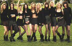 Kate Moss, Daria, Lara Stone, Amanda Murphy, Suvi, Meghan, Anna Ewers, Mariacarla, Raquel , Saskia, Mica, Daan Van Der Deen, Filip Hrivnak, ...