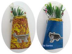Zizi Santos: Vasinhos de latinhas - Um projeto por Mês.