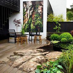 Balcony Design, Garden Design, Spring Window Display, Autumn Clematis, Most Beautiful Gardens, Low Maintenance Garden, Landscape Pictures, Backyard Projects, Back Gardens