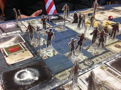 Boardgames; Dead of Winter. Photographer Tara Gregurke Green