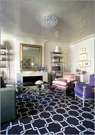 Enhancing Height - New York Times - How to on High Gloss Ceilings