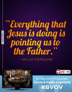 Watch today on #BVOV as Gloria and Kellie explain that our job as believers is to simply receive the One who was sent. kcm.org/watch #KnowGod