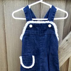 70s Baby Overalls 12/18 Months by lishyloo on Etsy