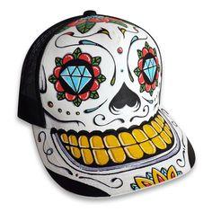 Casquette Personnalisee - Aztec - Sugar Skull