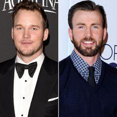 Chris Evans and Chris Pratt's Charitable Super Bowl Bet Couldn't Be Better