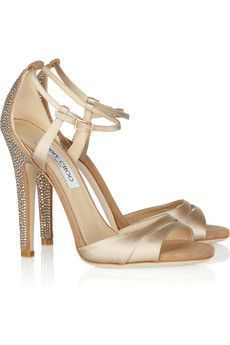 You belong to me - perfect for the discerning bride - Jimmy Choo