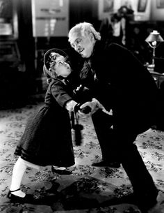 Shirley Temple and Frank Morgan in Dimples, 1936