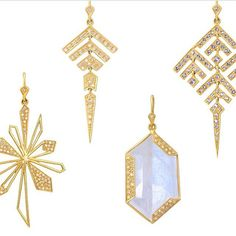 The Lauren Harper collection is on show at Jaimie Geller Jewelry. #LoveGold #FutureHeirlooms