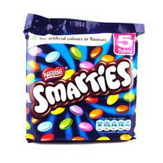 Nestle Smarties - like M but different flavor.