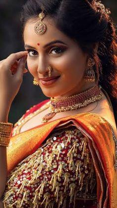 World Most Beautiful Woman, Beautiful Girl Indian, Most Beautiful Indian Actress, Beautiful Girl Image, Beautiful Smile, Indian Bridal Photos, Bengali Bridal Makeup, Indian Wedding Photography Poses, Snake Girl