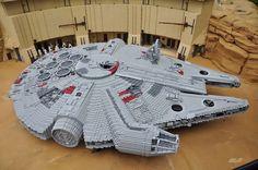 Starwars, Legoland, Billund, Denmark. Jun 2012.